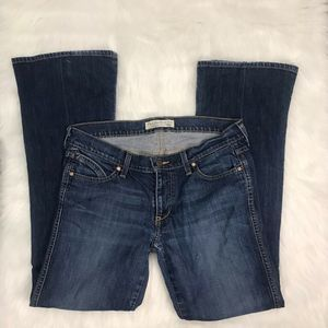 OLD NAVY LOWEST RISE WOMEN'S SIZE 8 BOOT CUT JEANS